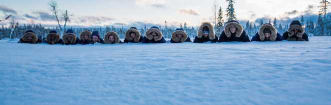 Vacances en Laponie l'hiver, Finlande