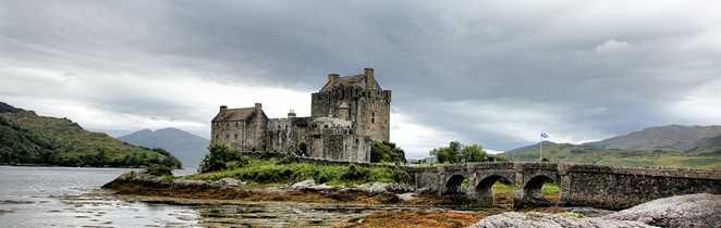 Eilean Donan Castle Highland Nord Kyle of Lochalsh Ecosse