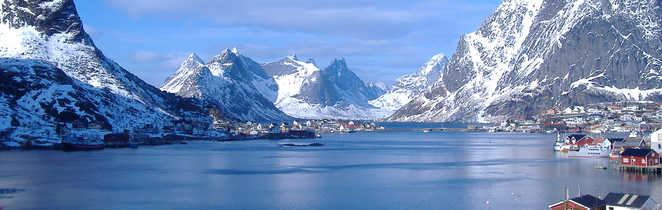 Fjord de Reine en hiver