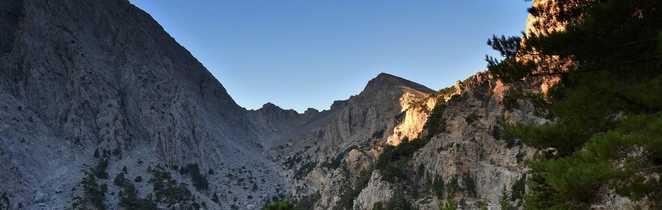 Gorges de Samaria en Crète