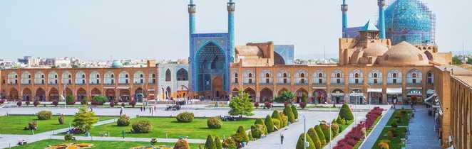 La place Naghsh-e Jahan à Ispahan