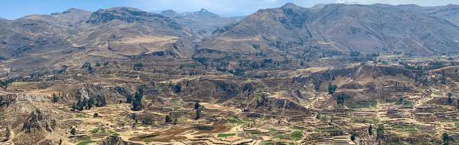 La vallée et le canyon de Colca, entre Arequipa et le Lac Titicaca