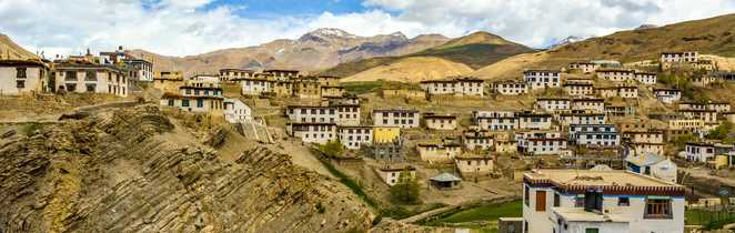 Kibber village Spiti trek