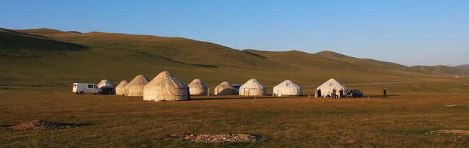 Lac Song Koul en Kirghizie