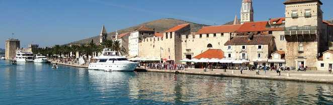 Le coeur médiéval de Trogir, Croatie