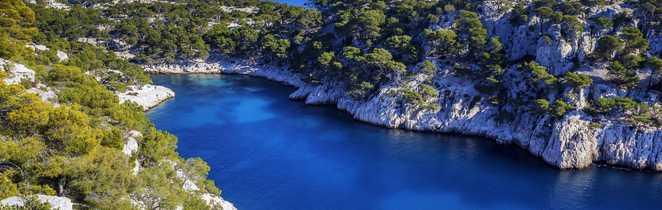 Le Parc National des Calanques : des décors aussi somptueux sous l'eau qu'au-dessus
