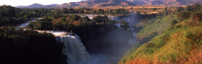 Les chutes du Nil Bleu en Ethiopie