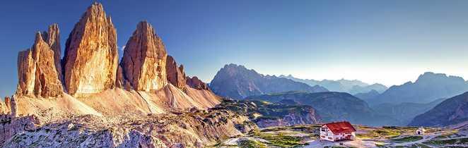 Les Tre Cime Di Lavaredo, symbole des Dolomites