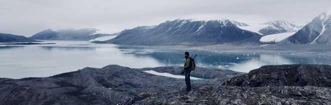 Nicolas, guide arctique en baie du Roi