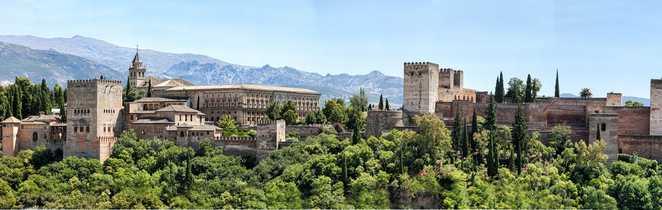 Palais de Alhambra à Grenade