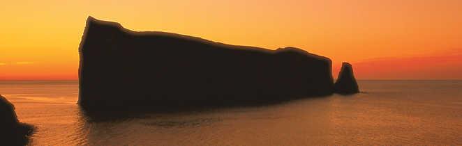 Rocher percé, voyage en Gaspésie
