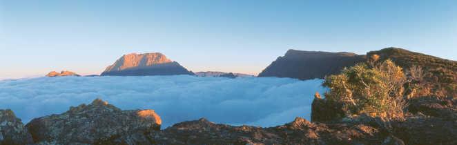 paysage au sommet du Piton de neiges, la Réunion