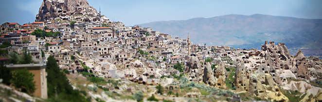Paysage de la Cappadoce en Turquie
