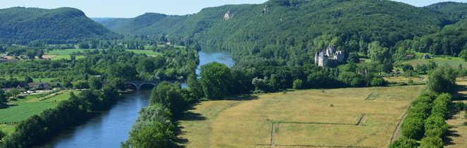 Paysage Dordogne Périgord Sud-Ouest France