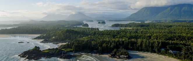 Plage de l'île de Vancouver, Pacific Rim