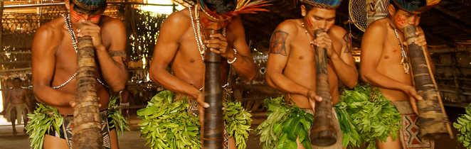 Population locale en Amazonie