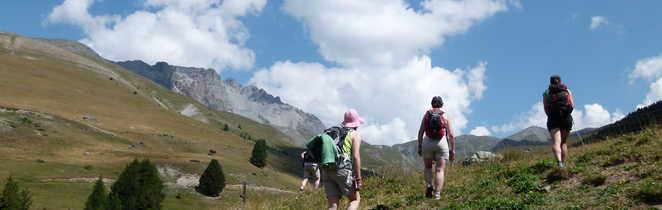 Randonnée au col de la Crèche, Queyras-Alpes du sud