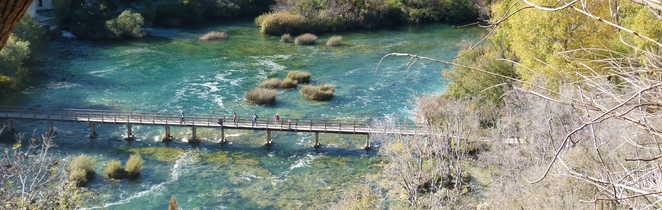 Randonnée dans le Parc National de Krka, Croatie