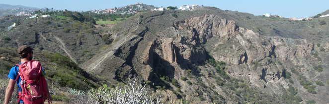 Randonnée en direction du Volcan Bandama à Gran Canaria