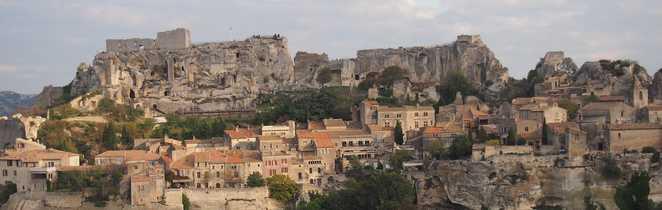 Site des Baux de Provence, dans les Alpilles