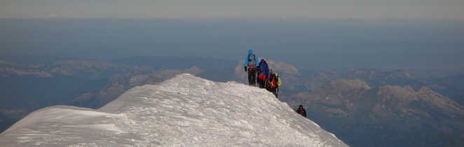 Sommet du Mont-Blanc