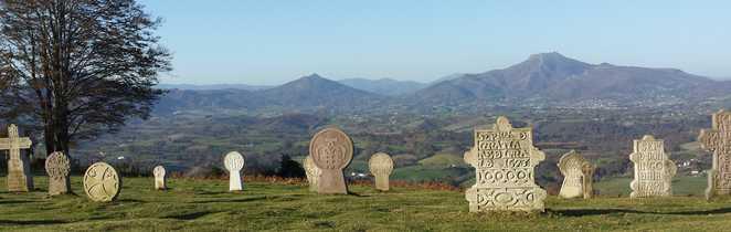 Stèles dans le pays basque