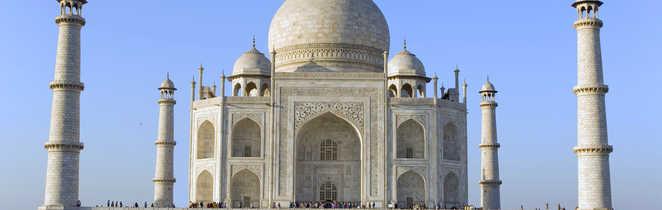 Taj Mahal à Agra