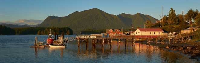 Tofino, sur l'île de Vancouver