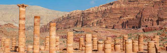 Tombes royales, Pétra, Jordanie