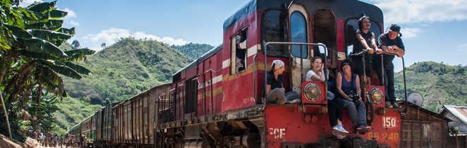 Train de brousse entre Fianaratsoa et la côte