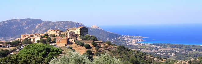 Village niché dans le Nord de la Corse