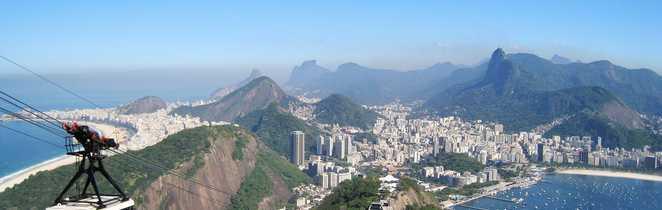 Vue du Pain de Sucre à Rio