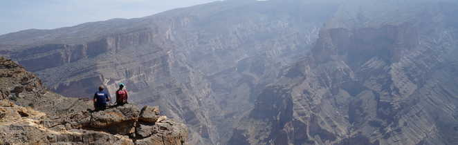 Vue sur le Jbel Akhdar, Oman