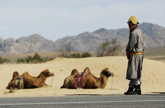 Ambiances dans le désert de Gobi