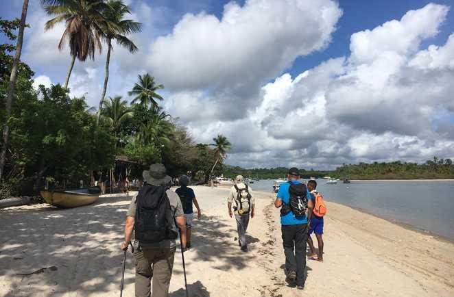 Arrivée sur l'île de Boipeba