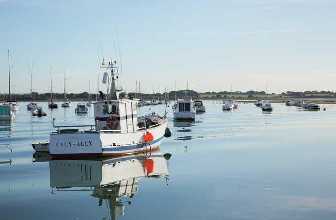 Bateau Golfe Morbihan Bretagne