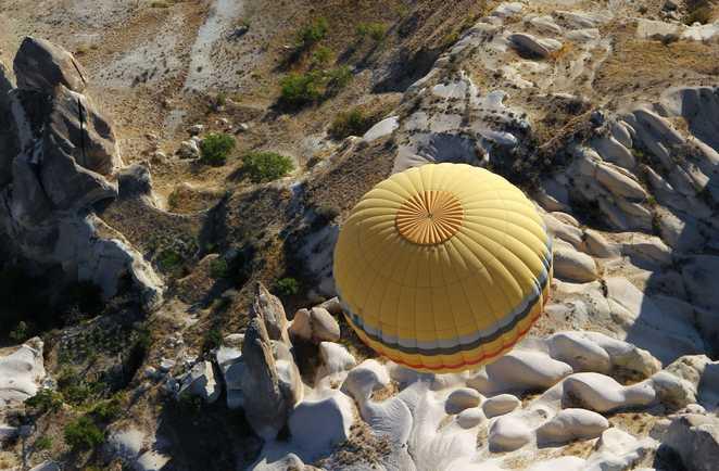 Cappadoce en ballon