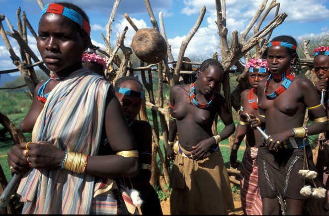 Cérémonie dans le sud éthiopien