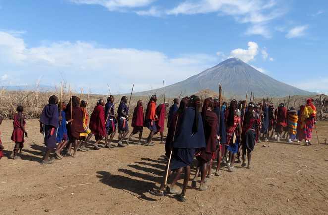 Cérémonie massai en Tanzanie