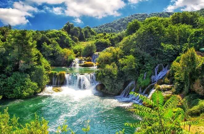 Croatie le parc national de Krka