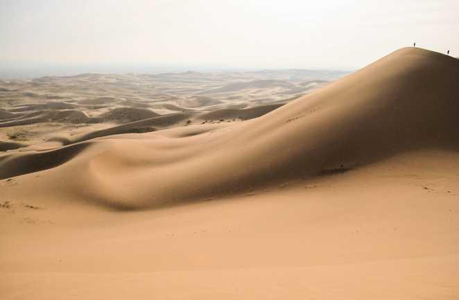 Dunes du désert de Gobi