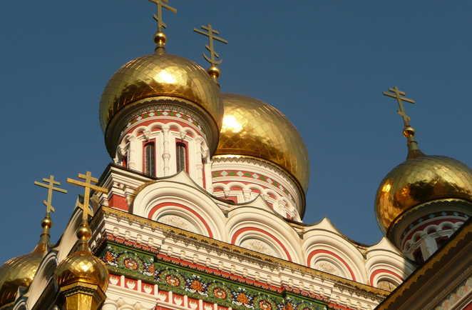 Eglise russe de Chipka dans le Balkan central