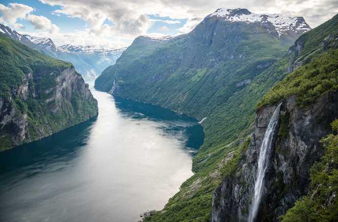 Geiranger fjord, Norvège du sud