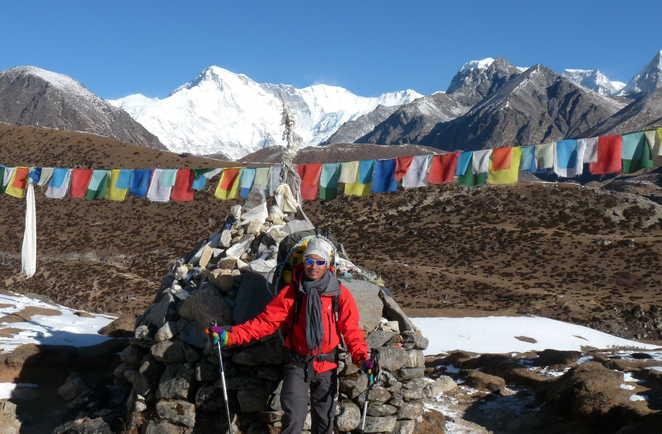 Gokyo Peak au Népal