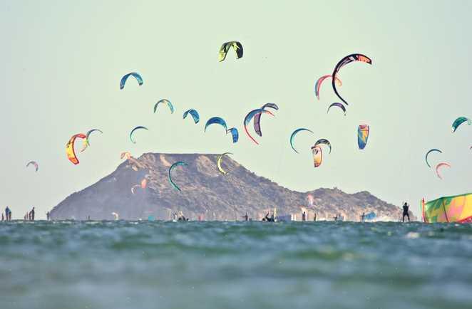 kitesurf session à Dakhla Lagoon avec ION CLUB