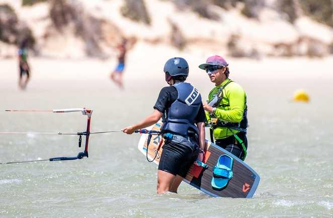 kitesurf course à Risco del Paso avec ION CLUB