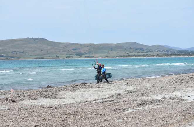 kitesurf course à Limnos avec ION CLUB