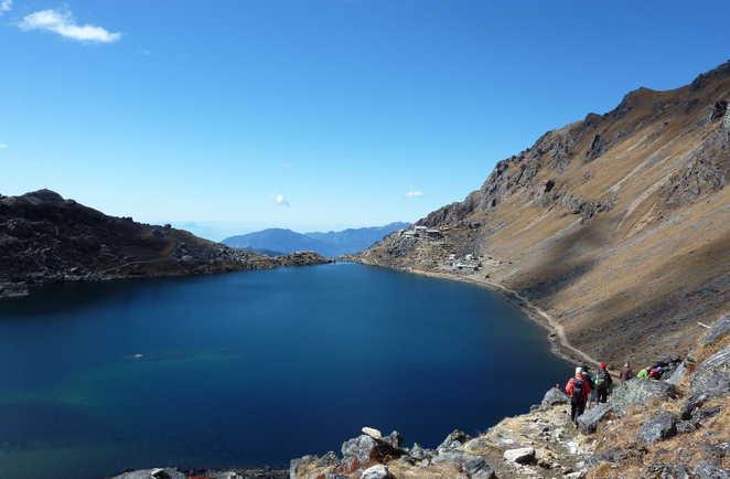 Trek Langtang Helambu, trek Népal