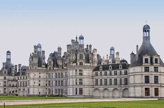 Chateau Chmabord Pays Loire France