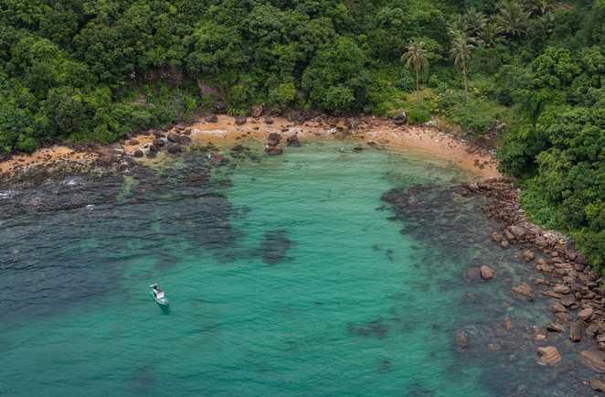 Le lagon à Phu Quoc